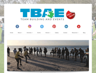 tbae.co.za screenshot