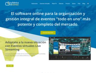 tbex.tufabricadeventos.com screenshot