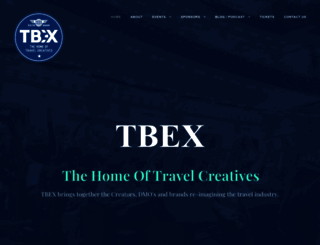 tbexcon.com screenshot