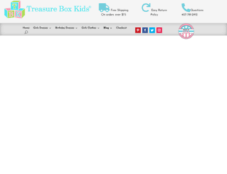 tbkidsclothing.com screenshot