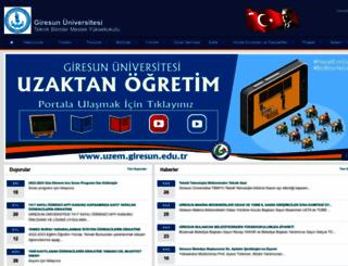 tbmyo.giresun.edu.tr screenshot
