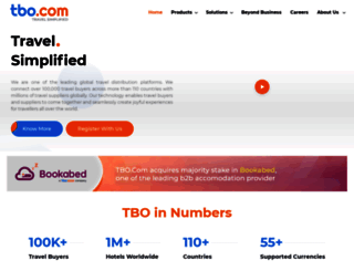 tbo.com screenshot