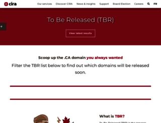 tbr.cira.ca screenshot