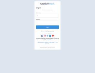 tcacareers.applicantstack.com screenshot