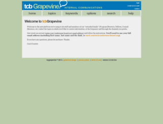 tcbgrapevine.conference-board.org screenshot