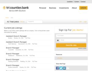 tcbk.applicantpro.com screenshot