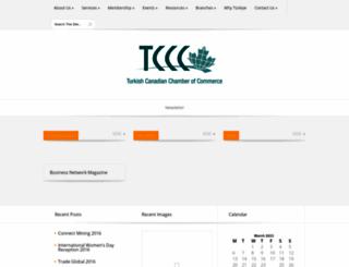 tcccommerce.org screenshot