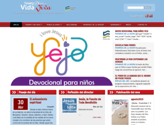 tcdesvidaviva.org screenshot