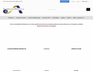tcdtape.com screenshot