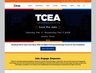 tcea.org screenshot