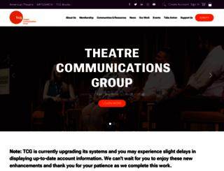 tcg.org screenshot