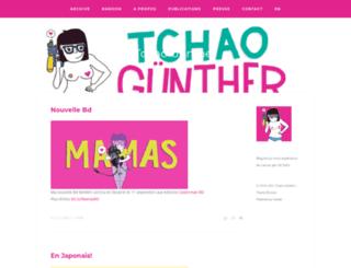 tchaogunther.com screenshot
