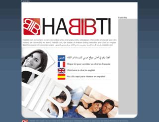 tchat.habibti.com screenshot