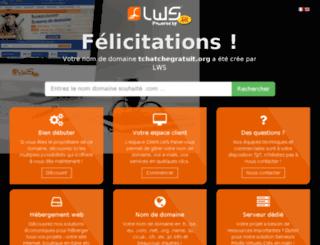 tchatchegratuit.org screenshot