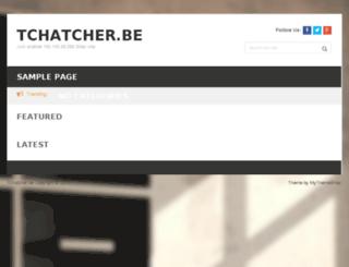tchatcher.be screenshot
