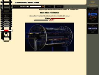 tchoutchoumodel.fr screenshot