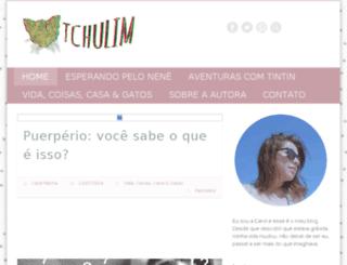 tchulim.com.br screenshot