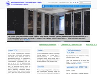 tcil-india.com screenshot