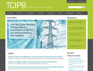 tcipg.org screenshot