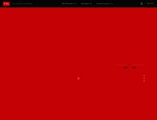 tcl-deutschland.de screenshot