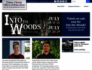 tcoe.org screenshot