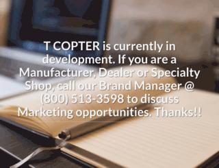 tcopter.com screenshot