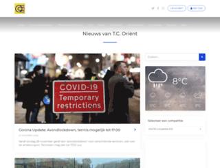 tcorient.nl screenshot