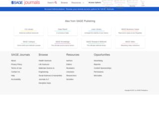 tcp.sagepub.com screenshot