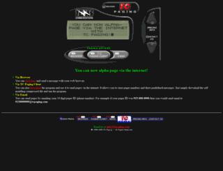 tcpaging.com screenshot