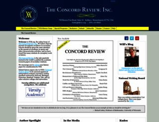 tcr.org screenshot