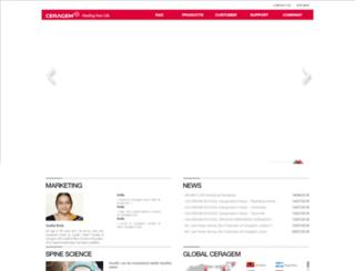 tcrm.ceragem.co.in screenshot