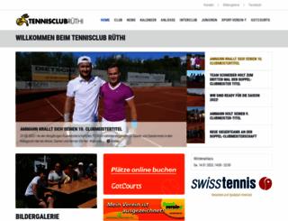 tcruethi.ch screenshot