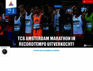 tcsamsterdammarathon.nl screenshot