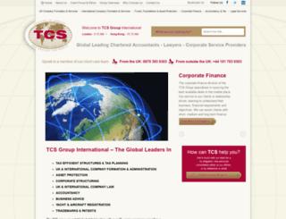 tcsgroupuk.com screenshot