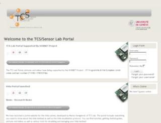 tcslab.unige.ch screenshot
