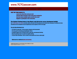 tctcsoccer.leagueapps.com screenshot