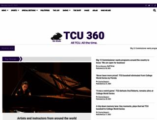 tcu360.com screenshot