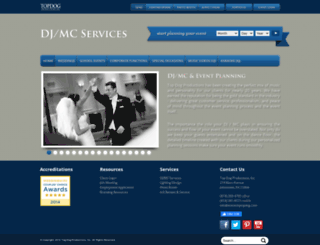 td-dj.com screenshot