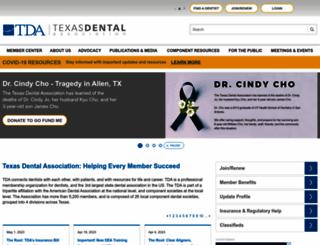 tda.org screenshot
