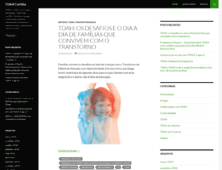 tdahcuritiba.com.br screenshot