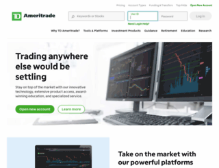 tdameritrade.com screenshot