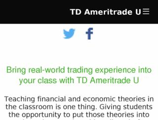 tdameritradeu.com screenshot