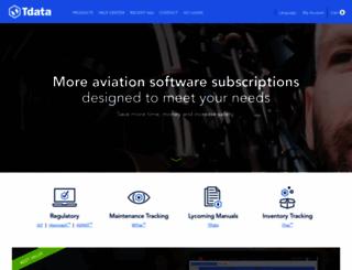 tdata.com screenshot