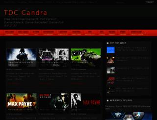 tdccandra.net screenshot