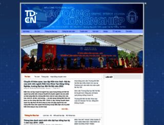 tdcn.hou.edu.vn screenshot