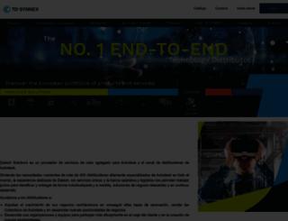 tddatech.es screenshot
