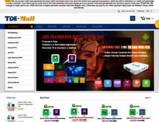 tde-mall.com screenshot
