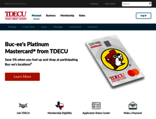 tdecu.org screenshot