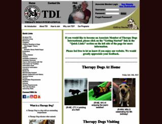 tdi-dog.org screenshot