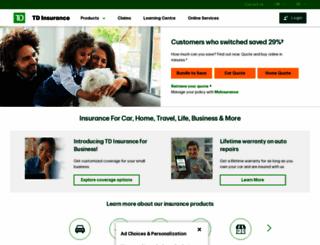 tdinsurance.com screenshot